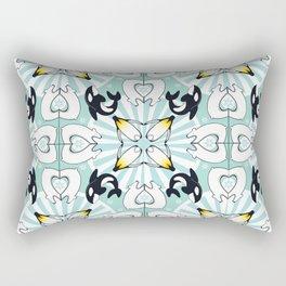 Kaleidoscopic Both Poles Animals Rectangular Pillow