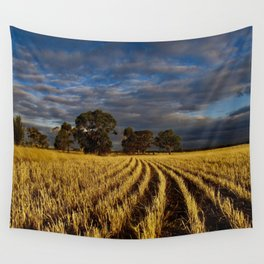Golden Harvest Wall Tapestry