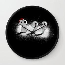 Snowdama Wall Clock