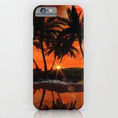Wonderful red sunset Slim Case iPhone 6s