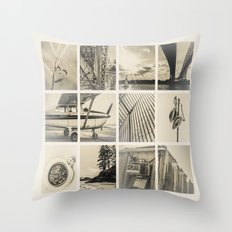 My World Throw Pillow