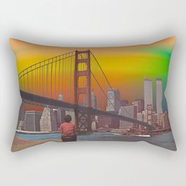 Somewhere Out There Rectangular Pillow