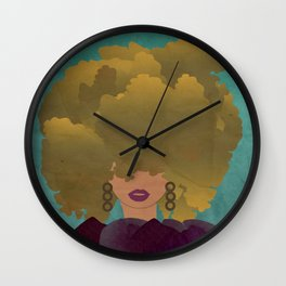 BLONDE AMBITION Wall Clock