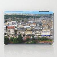 edinburgh iPad Cases featuring Edinburgh Model by Sabel Roizen