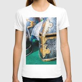 Medieval Knight Or Crusader Helmets T-shirt