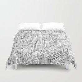Isometric Urbanism pt.1 Duvet Cover