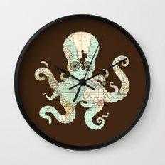 All Around The World Wall Clock