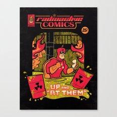 Radioactive Comics Canvas Print