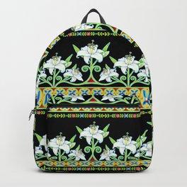 Elizabethan Lily Folkloric Stripe Backpack