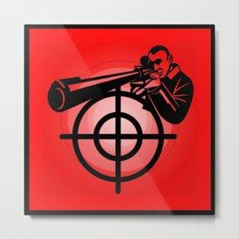sniper Metal Print