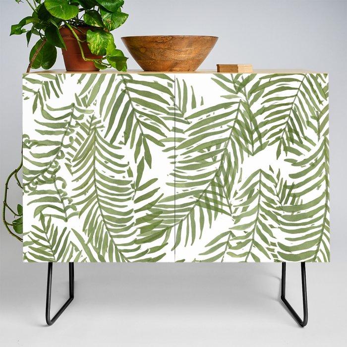 Areca Palm Pattern Credenza