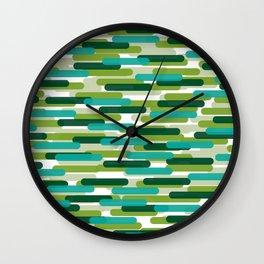 Fast Capsules 8 Wall Clock