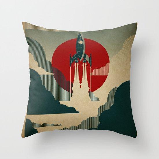 The Voyage Throw Pillow