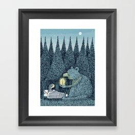'Night Light' Framed Art Print