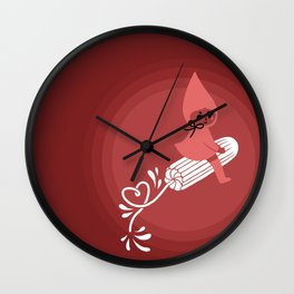 that time of the month, tampon Wall Clock
