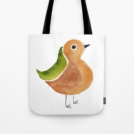 Jaunty Bird Tote Bag