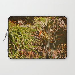 vintage garden in a hot sunny summer day Laptop Sleeve