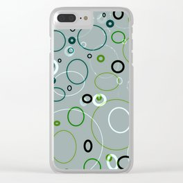 circle metamorphis Clear iPhone Case