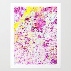 Photographic textile print  Art Print