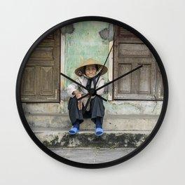 Vietnamese portrait Wall Clock