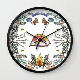 Camp Dutch Wall Clock