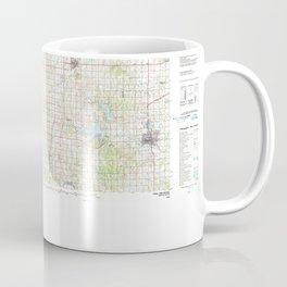 OK Enid 707143 1990 topographic map Coffee Mug