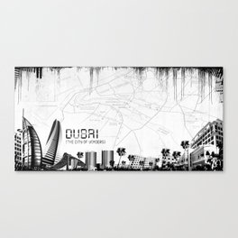 Dubaï Canvas Print