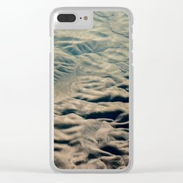 Amazing Earth - Wrinkled Mountains Clear iPhone Case
