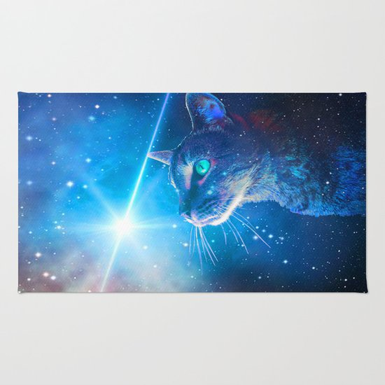 Sir Parkers Voyage into Space Rug