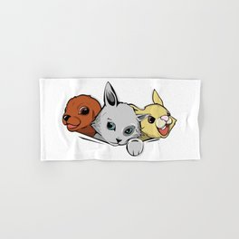 family pet Hand & Bath Towel