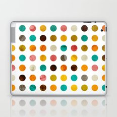 Autumnal polka dot Laptop & iPad Skin