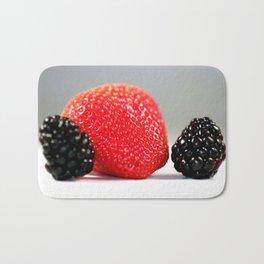 Strawberry Blackberry Bath Mat
