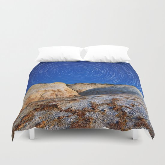 Up To the Milky Way Duvet Cover