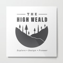 Into the High Weald Metal Print