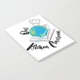 Our Kitchen Classroom Logo Notebook