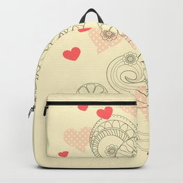 tea with love Backpack