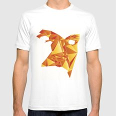 Polyface Color MEDIUM White Mens Fitted Tee