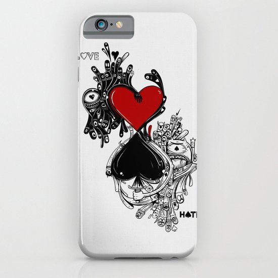 Love Hate iPhone & iPod Case