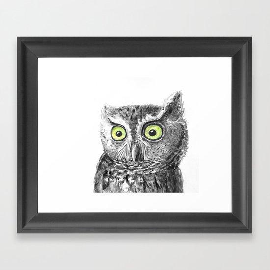 Owl portrait by katerinamitkova