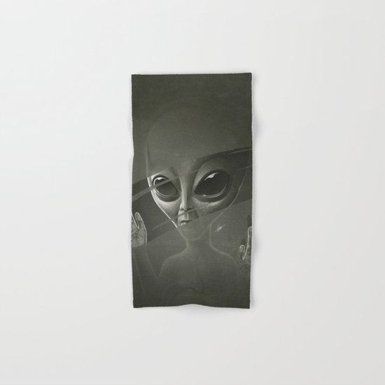 Alien Hand & Bath Towel