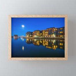 Reflections & Full Moon Framed Mini Art Print