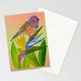Beckoning bird of paradise Stationery Cards