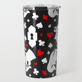 B&W Wonderland Travel Mug
