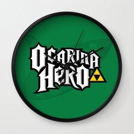 Ocarina Hero Wall Clock