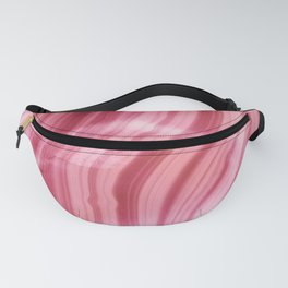 Summer Pink  Mermaid  Marble Fanny Pack