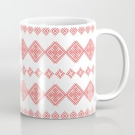 Pattern - Family Unit - Slavic symbol Coffee Mug