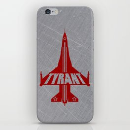 "TYRANT ""Bomber"" iPhone Skin"