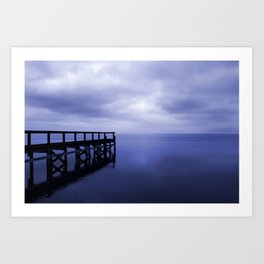Serenity on the Lake Art Print