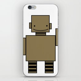 Robot  iPhone Skin
