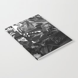 Greyscale collage Notebook